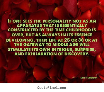 Quotes about inspirational - If one sees the personality not as an apparatus that is essentially..