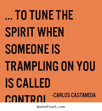Create custom picture quotes about inspirational - ... to tune the spirit when someone is trampling on you..