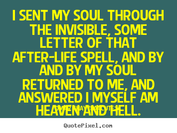 Omar Khayyám picture quotes - I sent my soul through the invisible, some letter.. - Life quotes