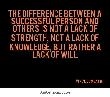 Design picture quotes about success - The difference between a successful person and others..